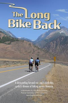 Long Bike Back Poster